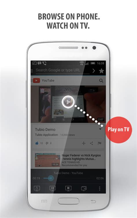 allshare cast apk tubio cast web to tv apk free media android app appraw