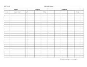 cashbook spreadsheet template company documents