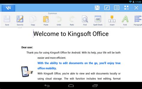 android office kingsoft office android1 linux und ich