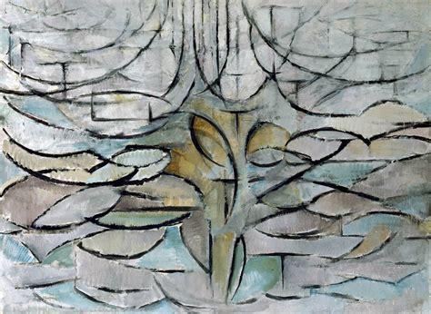 melo in fiore piet mondrian e la serie degli alberi dal reale alle