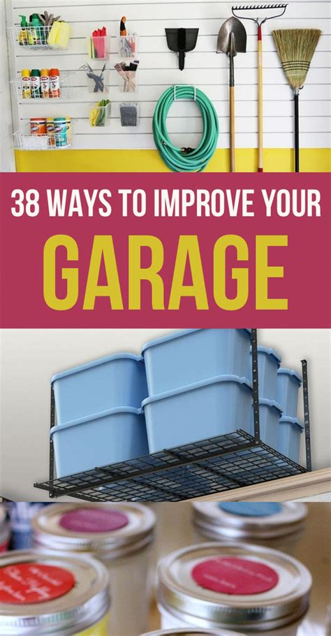 ways to organize your garage 38 borderline genius ways to organize your garage