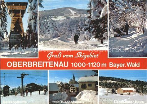 landshuter haus oberbreitenau bischofsmais skih 252 tte rusel 1968 nr 0042642