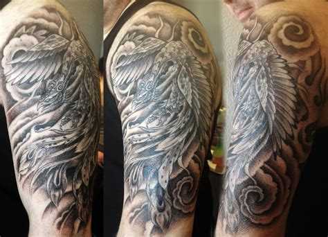 phoenix black and grey tattoos pinterest phoenix and