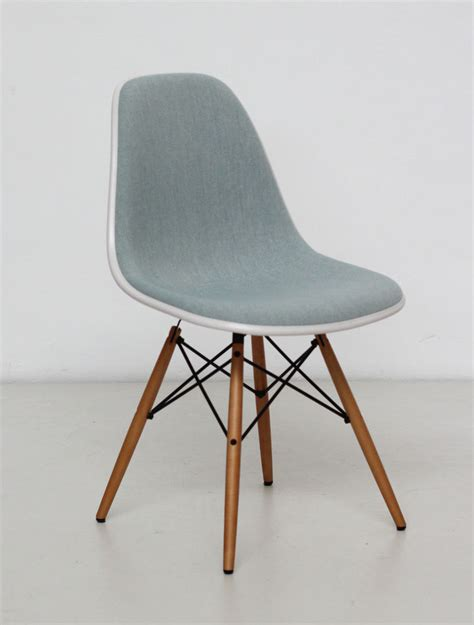 vitra stuhle vitra eames plastic side chair dsw shell blue