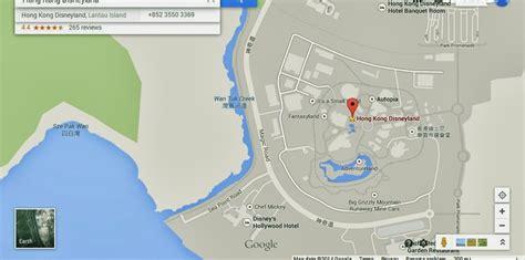 complete location map  disneyland hong kong hong kong