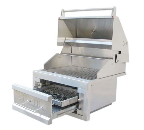 outdoor stainless steel cabinets sale tx outdoor kitchens sunstone 28 drop in charcoal grill