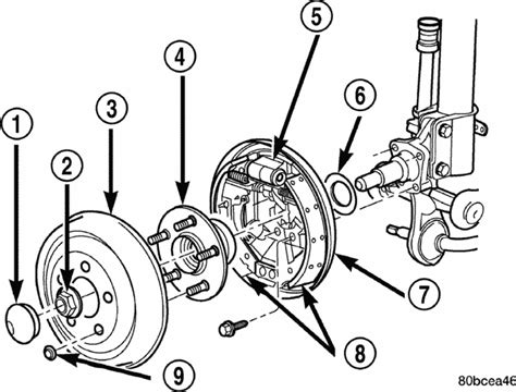 2000 Dodge Neon Drum Brake Diagram