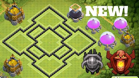 th8 layout new update best th8 defense base 2016 new epic town hall 8 th8 trophy
