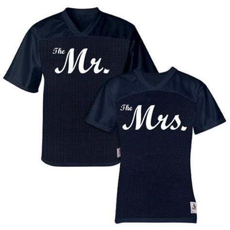 Matching Jersey Shirts The Mr And The Mrs Matching Jerseys Custom Products