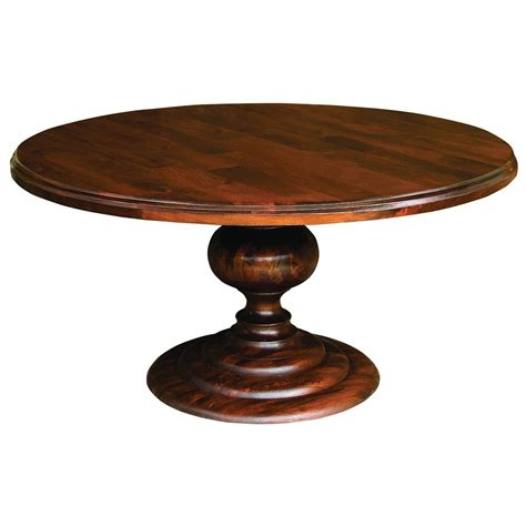 60 round dining room table 60 quot round pedestal dining table cocoa round kitchen