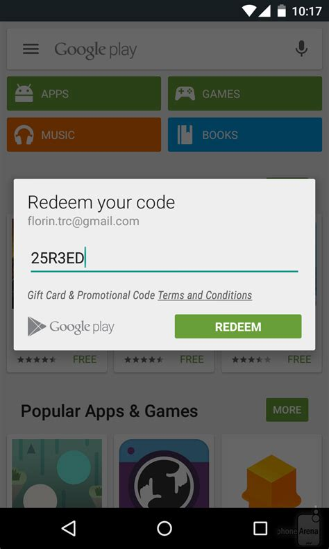 How To Redeem Play Store Gift Card - gift card numbers for google play images