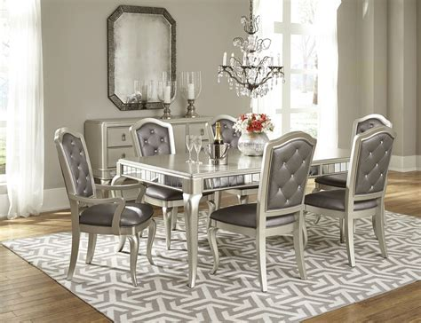 Dining Room Set Rectangular Extendable Leg Dining Room Set From