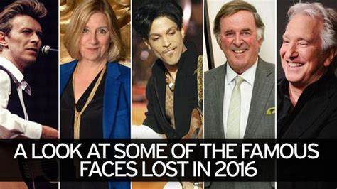 important people who have died in 2016 celebrity deaths in 2016 famous faces gone too soon
