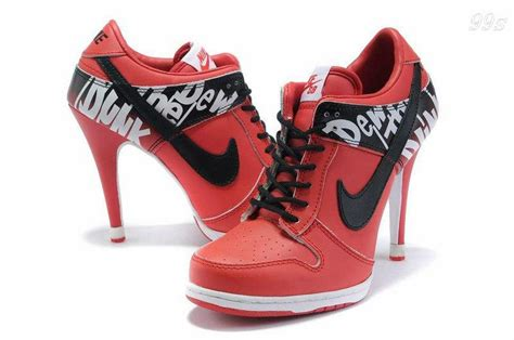 high heel nike shoes new style factory wholesale cheap nike dunk high heels
