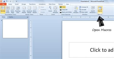 powerpoint tutorial vba how to make a shooting game how to open vba macro editor in powerpoint powerpoint