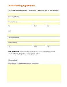 marketing agreement template business form template gallery doc 600730 marketing agreement template marketing
