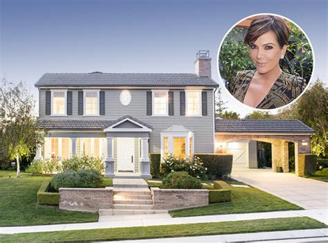 kris jenners house tour kris jenner s new 2 3m california home