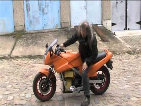 Motorrad Elektro Umbau Kit by Testfahrt Elektromotorrad Ga1 Mpg Youtube
