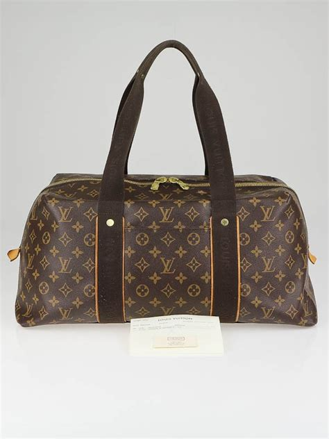 louis vuitton monogram canvas weekender beaubourg mm bag