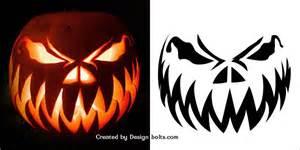 scary pumpkin faces templates free pumpkin carvings stencils designs ideas for