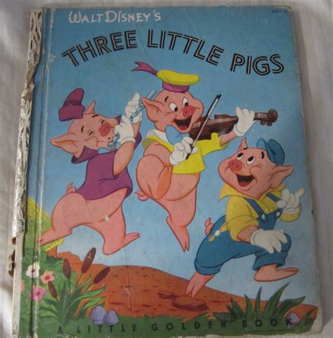 value of walt disney golden books walt disney s three pigs golden book no d10 25 c 1933 1948