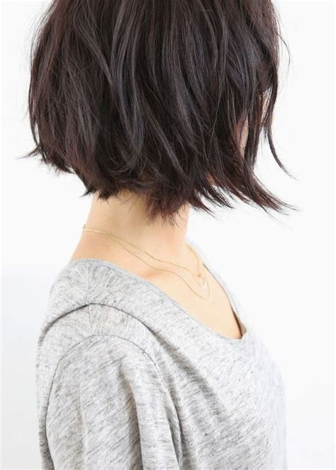 chin length messy haircuts pinterest the world s catalog of ideas
