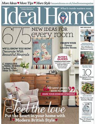 ideal home magazine photo shoot london studio