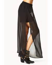 black chiffon maxi skirts for s fashion