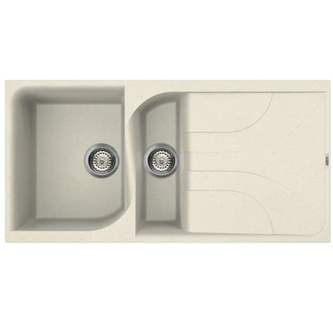 kitchen sink co reginox ego 475 cream sink kitchen sinks taps