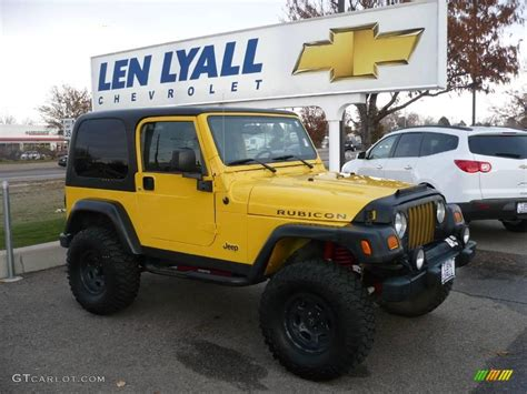 jeep rubicon yellow what colors are available on the 2016 jeep wrangler 2017