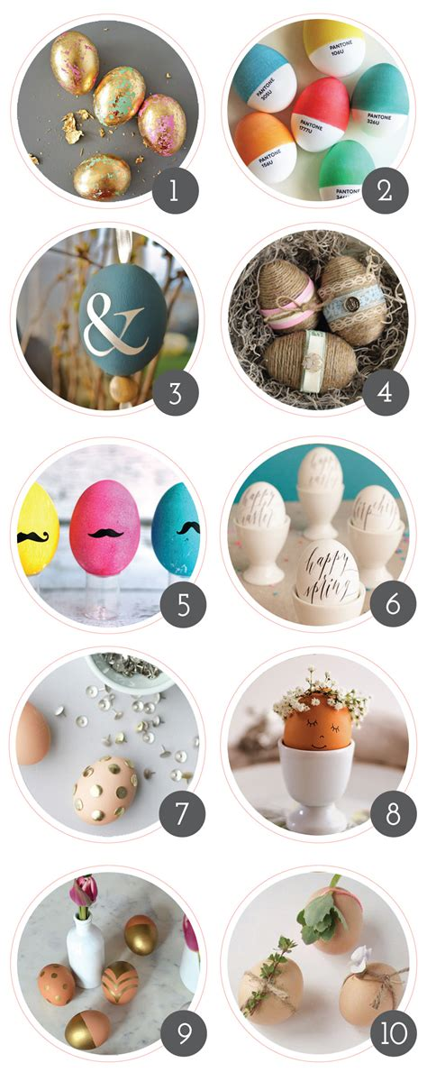 easter egg decorating pinterest 10 best easter egg decorating ideas jillianastasia