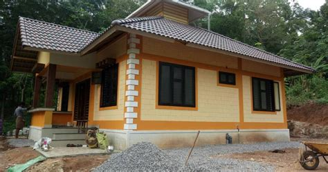 BUILDING DESIGNERS: Low cost 3BHK House at Malappuram