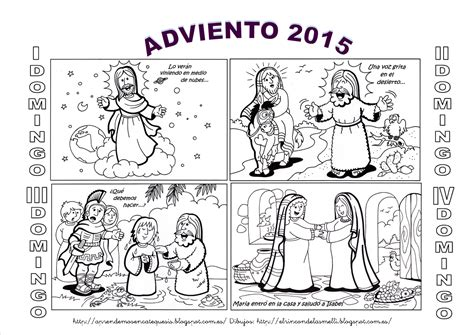 El Calendario Para Colorear La Catequesis El De Calendarios De Adviento