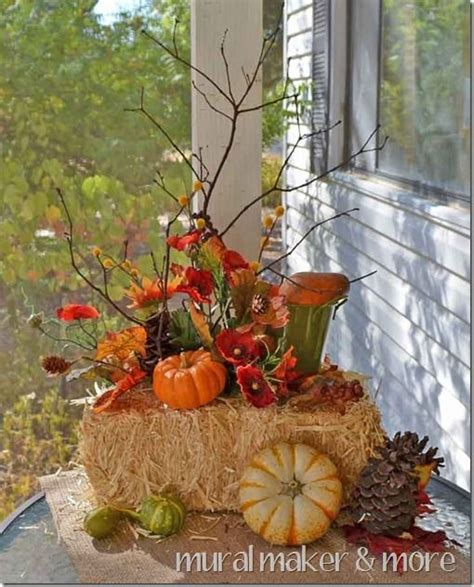 fall hay bale decorating ideas fall porch decorating ideas fall porches front porches