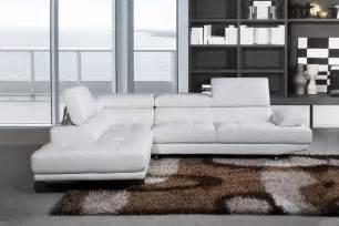 White Leather Sofa Uk Stylist Modern White Leather Corner Sofa Left