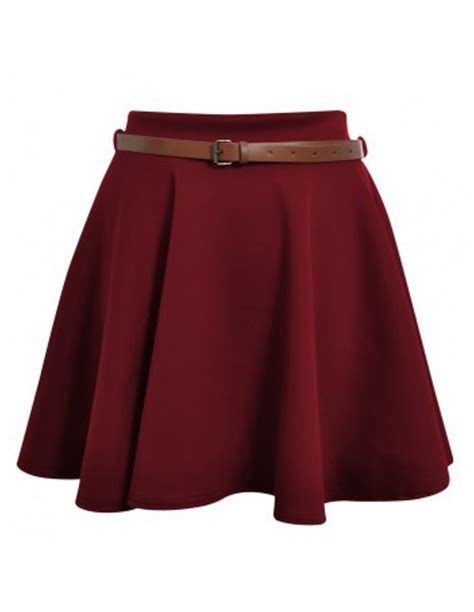 faldas cortas con vuelo faldas cortas de vuelo f089