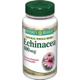 Zipp 100 Herbal nature s bounty echinacea herbal supplement capsules 400mg