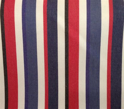 red and white striped upholstery fabric red white blue and black stripe upholstery fabric fabric by