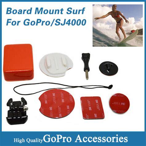 Set Floating Handlebar Mount Surf Snowboard For Gopro T0210 1 gopro accessories board mount surf snowboard wakeboard set floaty float box adhesive buckle