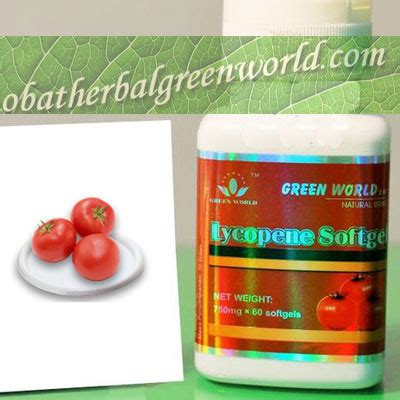Lycopene Softgel Green World 5 lycopene obat herbal prostat herbal green world global