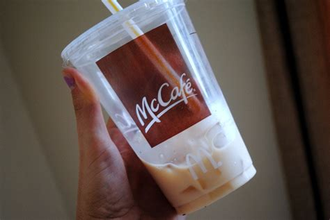 Iced Coffee Mcd starting the day the iced coffee way peanut butter fingers