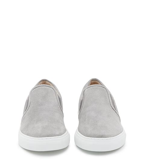 Nike Smith Suede Slip On Abu reiss delon slip on suede sneakers in gray for lyst