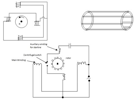 single phase induction motor 28 images construction of