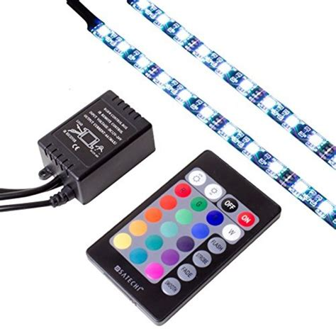 Led Light Strips With Remote Satechi 174 Computer Rgb Led Light With Remote Ebay