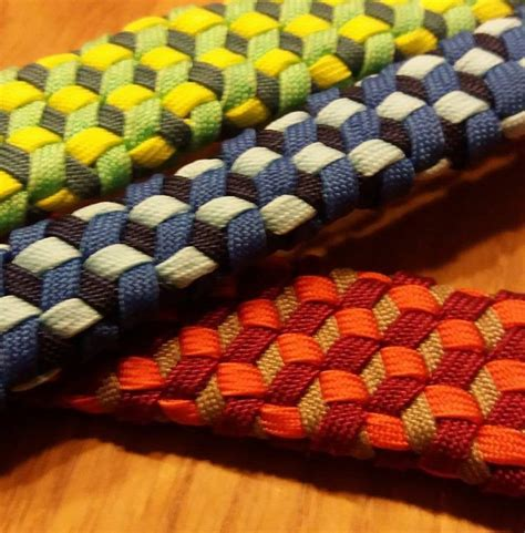 paracord weaves triaxial weave paracord projects to try pinterest