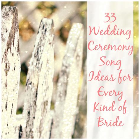 unique wedding ceremony ideas 27 diys wedding ceremony songs and outline allfreediyweddings