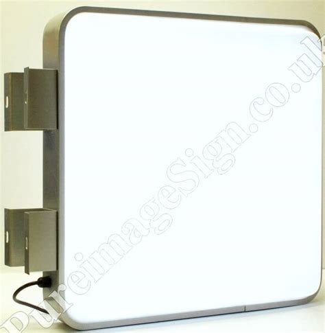 55x55cm Outdoor 2 Sided Projecting Illuminating Led Light Outdoor Light Box Signs