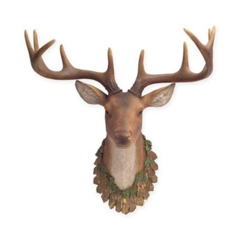 christmas decorations with deer head pic buy indoor decorations from bed bath beyond