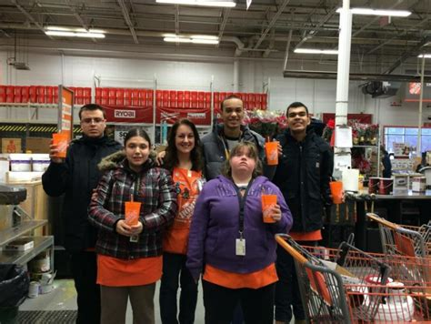 local home depot supports sachem students sachem report