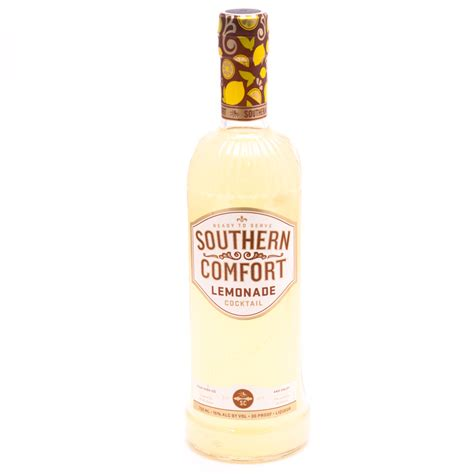 southern comfort and lemonade southern comfort lemonade cocktail 30 proof 750ml